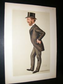 Vanity Fair Print 1886 John O'Connor Power, Irish